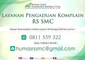 Pengaduan Komplain RS SMC 0811559322